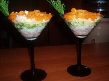 Ралат-коктейль грибной Салаты в архивах: салат из трески, рецепты...