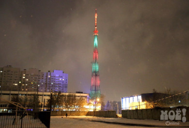 На новогодних каникулах воронежцы смогут увидеть световое шоу