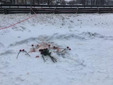 Появились кадры с места убийства учительницы в Воронеже