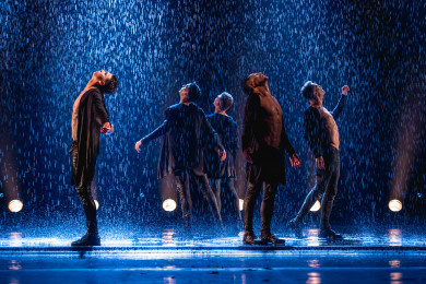 Воронежцы увидят огненные танцы под потоками воды