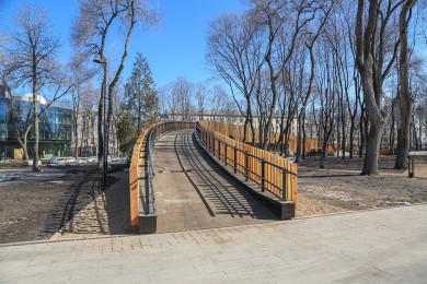 Мэрия показала парк «Орлёнок» после реконструкции