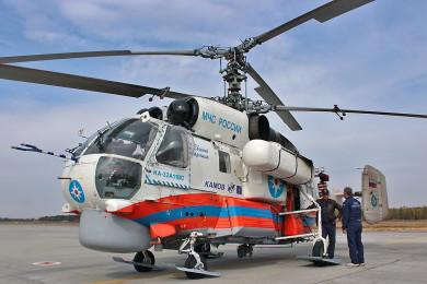 Вертолёт МЧС, дежуривший над Воронежской областью из-за пожаров, вернулся в Москву
