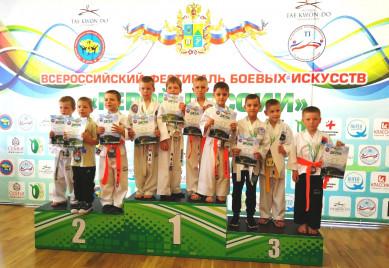 Тхэквондисты из Воронежа завоевали 10 золотых медалей на российских соревнованиях