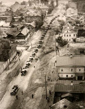 Воронежцам показали, как выглядел временный деревянный мавзолей Ленина