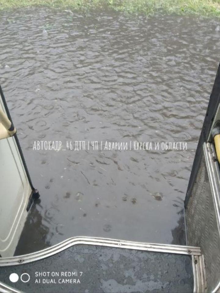 Курскую область затопило дождем