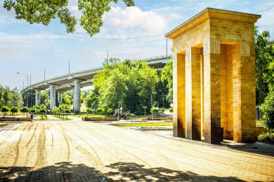Воронежец показал парк «Динамо» после наводнения