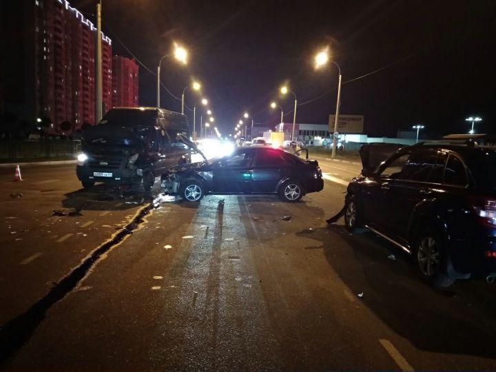 В Курске четыре человека пострадали в массовом ДТП
