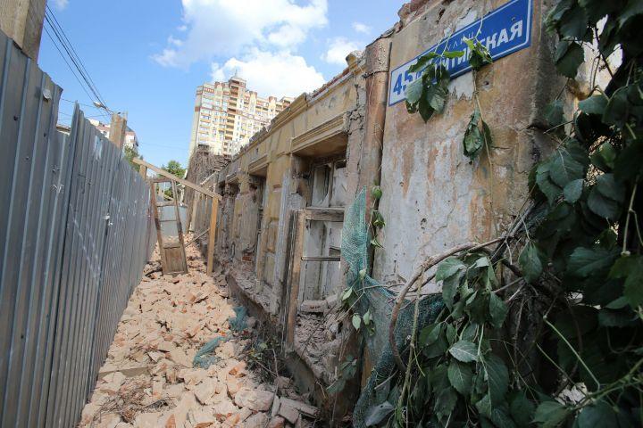 Воронежские власти подтвердили законность сноса второго этажа дома Вагнера