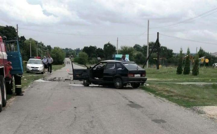 В Волово водитель ВАЗа пострадал в ДТП с «Калиной»
