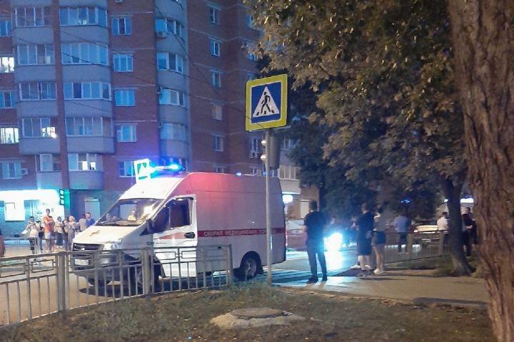 Воронежцы сняли на видео, как легковушка сбивает 11-летнего мальчика