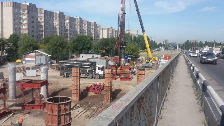 Воронежцы рассказали, что происходит на стройке Остужевской развязки
