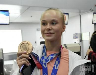 Путин наградил воронежскую гимнастку за успехи на Олимпиаде