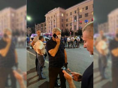 На место взрыва автобуса в Воронеже прибыл губернатор