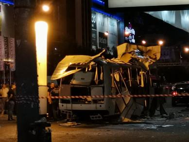 На место взрыва автобуса в Воронеже направлены следователи из Москвы