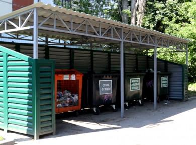 Площадки для раздельного сбора мусора в Воронеже отметили на карте