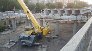 «Работа кипит»: воронежцы показали на фото строительство Остужевской развязки