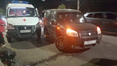 Скорая, попавшая в ДТП на Московском проспекте, везла пациента