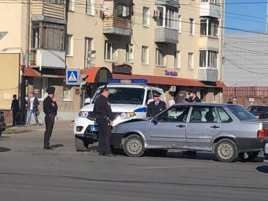 Полицейский УАЗ попал в ДТП на Московском проспекте