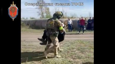 Опубликовали видео задержания воронежского подрывника