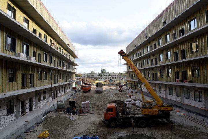 В Курске завершается строительство инфекционной больницы