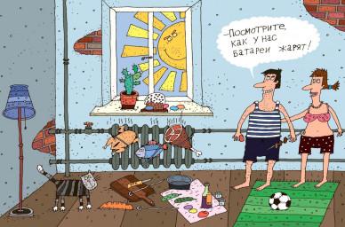 Мэр объявил массовый пуск тепла в жилые дома Воронежа