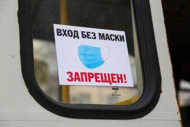 Из-за ковида мэру Воронежа поручили бороться с давкой в автобусах