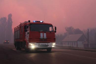 Женщина погибла вовремя пожара вбольнице вВоронежской области