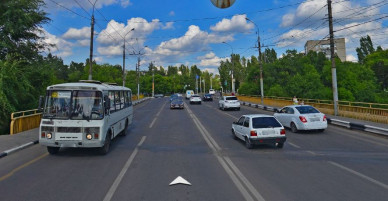 Возобновлено движение по путепроводу над улицей Героев Сибиряков в Воронеже