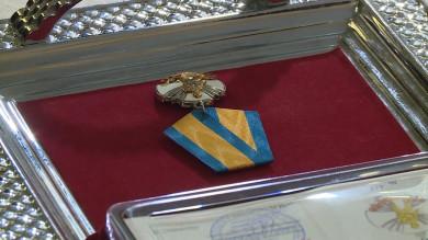 Главу «Росгосстраха» наградили медалью за заслуги перед Отечеством