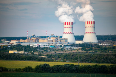 Нововоронежская АЭС в сентябре 2021 года увеличила выработку электроэнергии на 23%
