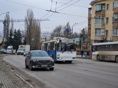 В Воронеже приостановят работу троллейбусного маршрута № 11