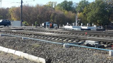 Пешеход погиб подколёсами поезда вВоронеже
