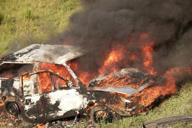 Воронежец сжёг машину соседа из-за обращения в полицию