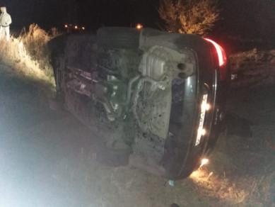 Легковушка съехала вкювет вВоронежской области — водитель погиб