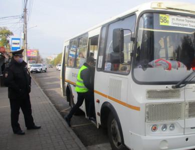 За отсутствие масок в общественном транспорте оштрафовали более 100 воронежцев