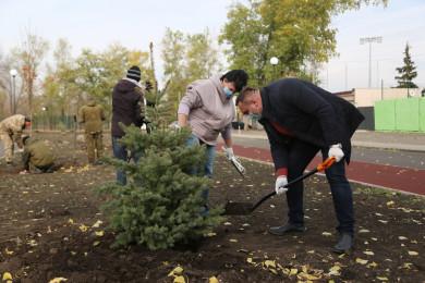 В Воронеже стартовал последний этап благоустройства левобережного парка