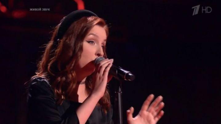 Липчанка выступила на шоу «Голос»