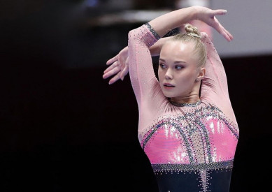 Воронежскую гимнастку засудили на чемпионате мира
