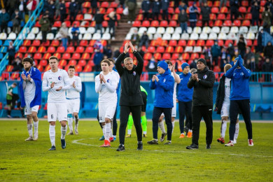 «Факел» продлил контракт с главным тренером Василенко