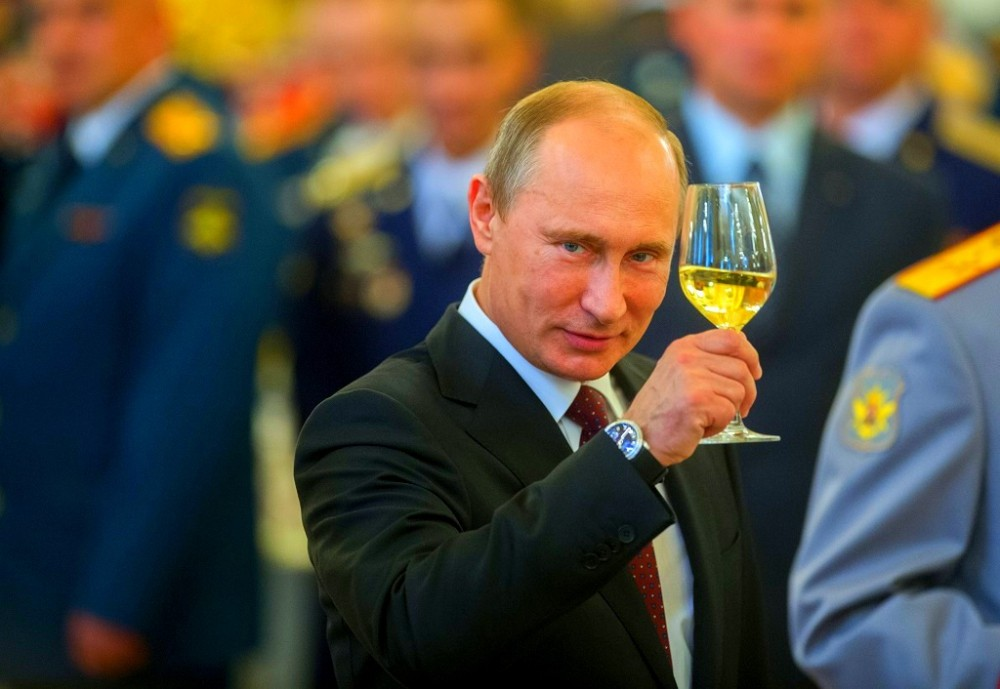Поздравление президента ольге