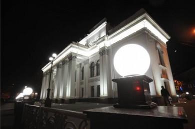 В новом драмтеатре Воронежа нет цехов по изготовлению декораций