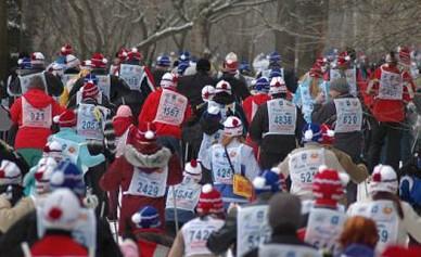 Воронежцев приглашают на лыжный марафон