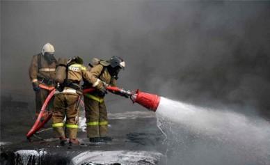 В Павловске горело здание, где расположен офис судебных приставов
