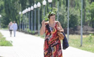 В Воронеже на смену грозовому фронту приходит европейская жара