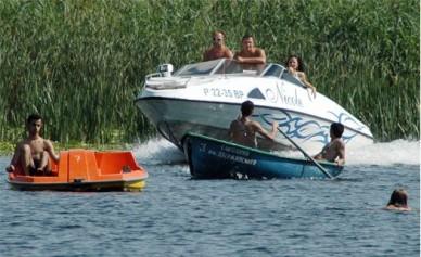 На воронежском водохранилище столкнулись два катера: есть пострадавшие