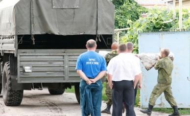В огород жителя посёлка Гремячье попал снаряд для установки «Град»