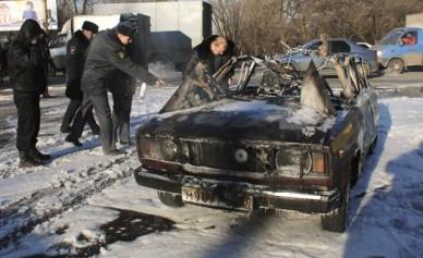 Машина, взорвавшаяся у ДК Кирова, ехала из автосервиса