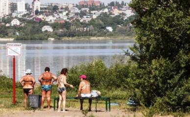 В Воронеже санитарные врачи назвали 5 пляжей, на которых опасно купаться
