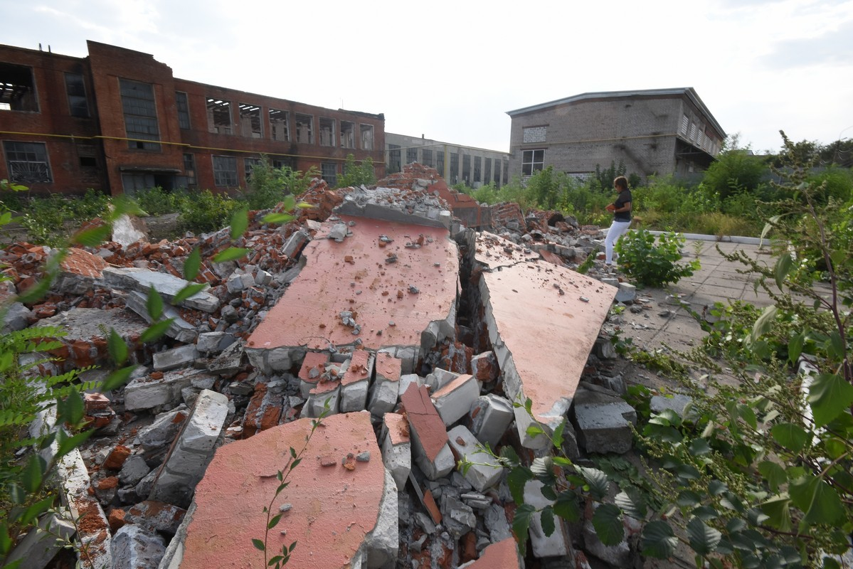 В Воронеже уничтожен мемориальный комплекс в память о погибших в войну рабочих