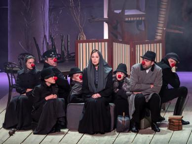 Евгения Симонова в Воронеже: «Актёрство – постоянное насилие над собой»